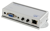 Picture of Databay AVE-301R 1 Port VGA+Audio over CatX Receiver