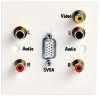 Picture of Databay 1GEIAVPLT  Single-gang AV Plate