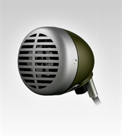 """Picture of Shure 520DX  """"Green Bullet"""" Harmonica Microphone"""