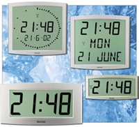 Picture of Bodet Cristalys Digital LCD Clock Range